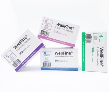 Wellfine Insulin Pen Needle 31g*6mm - Buy Pen Needle,Insulin Pen,31g Needle  Product on Alibaba com
