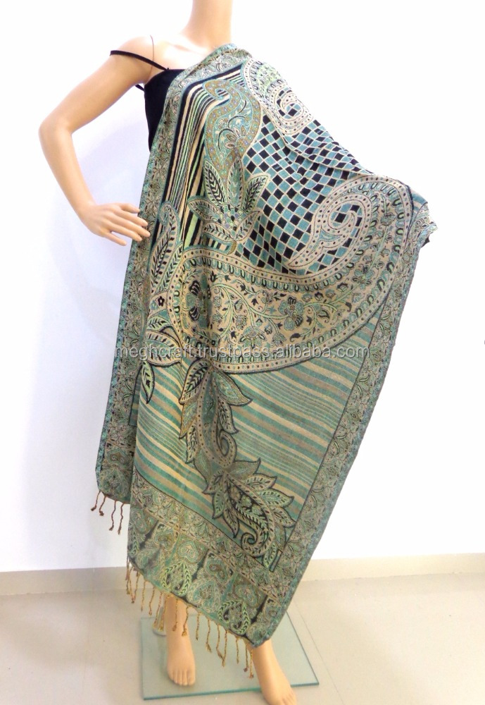 sito affidabile f02d9 bb372 Wholesale Indian Pashmina Stoles - Silk Shawl India Online - Partywear  Double Side Dupatta - Women Stylish Scarf - Buy Excellent Silk Scarf  Bound,Wool ...