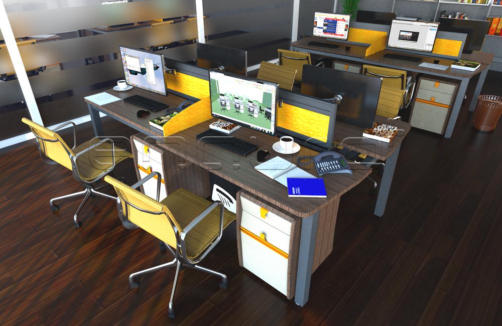 Bureau bureau moderne meubles elasto jambe avec coulissante top