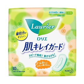Sanitary napkin Laurier clran skin Guard Daytime use