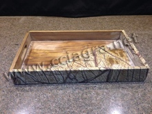 New Design Marble & Wood Food & Beverage Serving Tray