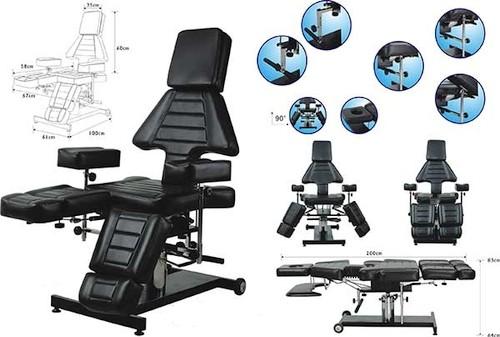 Professionele hydraulische zwart tattoo stoel tattoo meubels buy