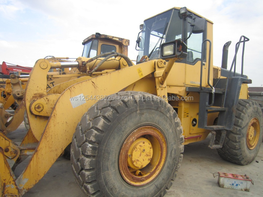 Few Working Hours Used Komatsu WA420 Wheel Loaders for sale/price can be discussed