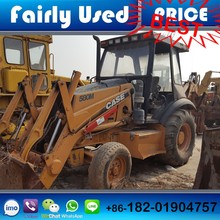 USA original used Case 580M mini loader backhoe, used case 580 backhoe for sale