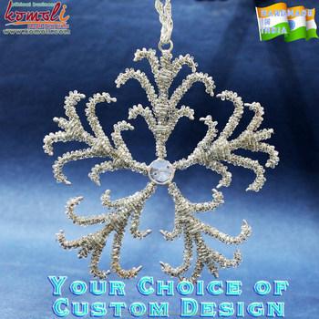 Crown Christmas Ornaments.Crown Design Glass Bead Snowflake Wholesale Flat Metal Christmas Ornaments Buy Christmas Ornaments Wholesale Christmas Ornaments Flat Metal