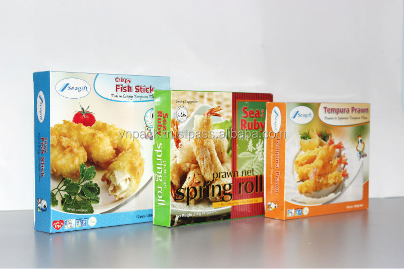 SEAFOOD PAPER BOX PACKAGING