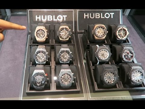 $50,000 Hublot Watch Shopping