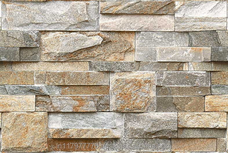 Natural Stone Elevation Tiles : Ceramic elevation wall tiles india buy natural look