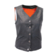 Womans Leather Vest with Gun Pocket