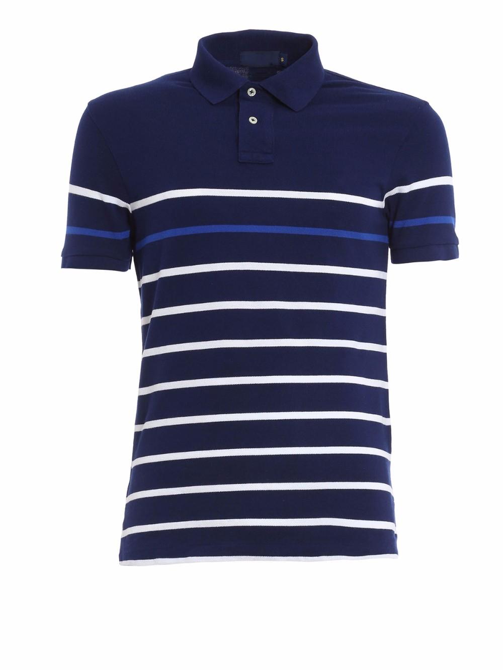 Custom design white mens short sleeve blank cotton polo for Custom design polo shirts