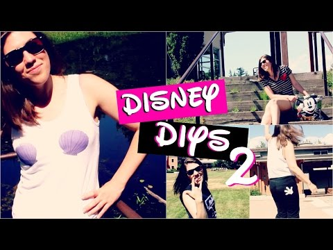 Disney DIYs Part 2 -Cheap and Easy Disney Clothing