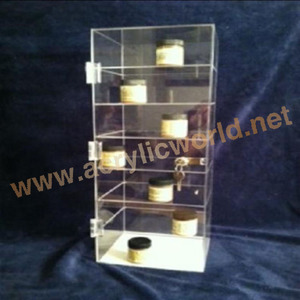 custom laser cut e-liquid display stand with LED light, plexiglass LED table show case