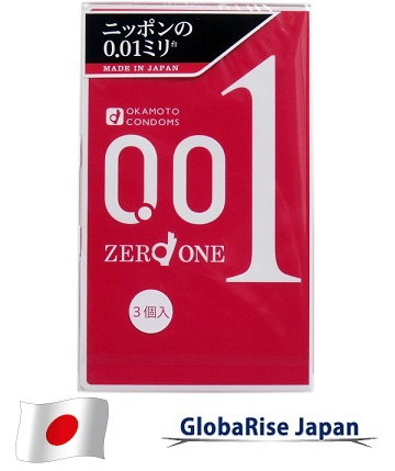 Japanese condom Okamoto 0.01 condoms protection made in Japan for wholesaler