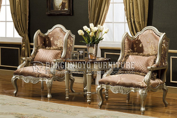 Royal Furniture Style French Antique Armchair
