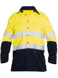 TAPED 2 TONE HI VIS FR VENTED LONG SLEEVE SHIRT