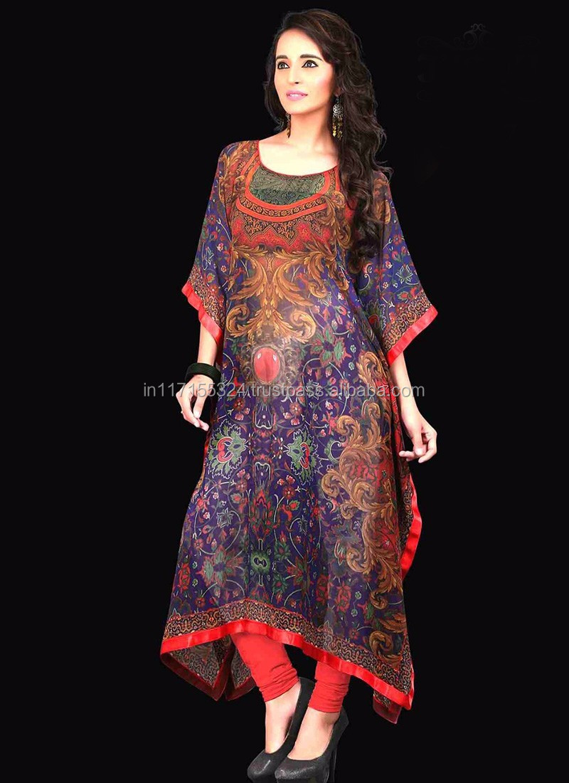 Modern dress design - Designer Kaftan Dress Tops Wholesale For Ladies 2016 Kaftan Kurti Modern Style Designer Kaftan