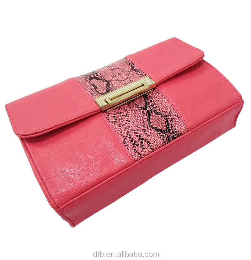 Women's PU Leather Clutch Bag