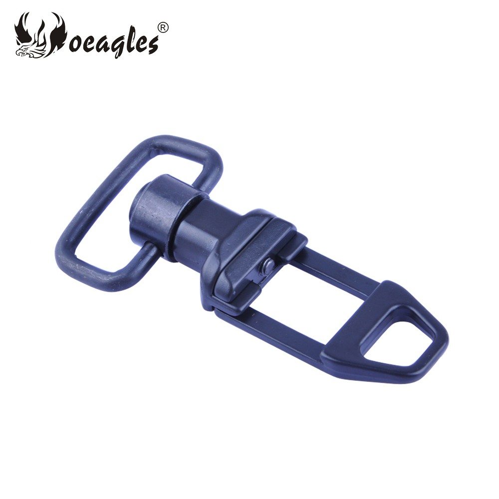 Hunting Rifle gun sling belt buckle Aluminum Alloy 21mm Rail Weaver Tactical Gun accessories