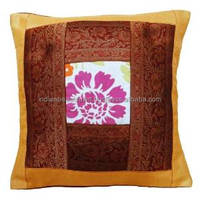 Home Decor Mustard Pillowcase Decirative Patchwork Designer Cushion Cover 16