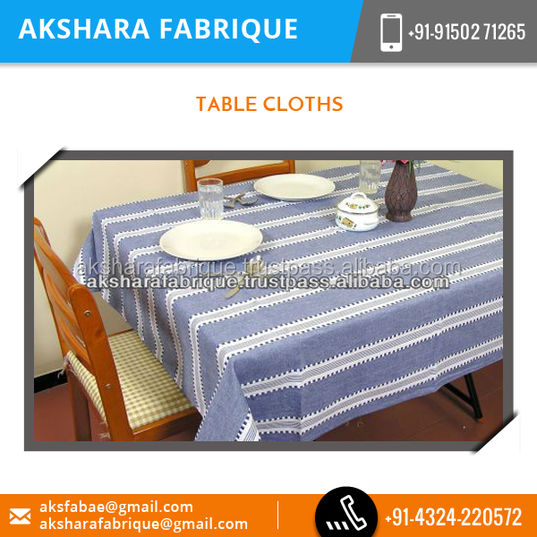100% Cotton Material Made Disigner Table Cloth
