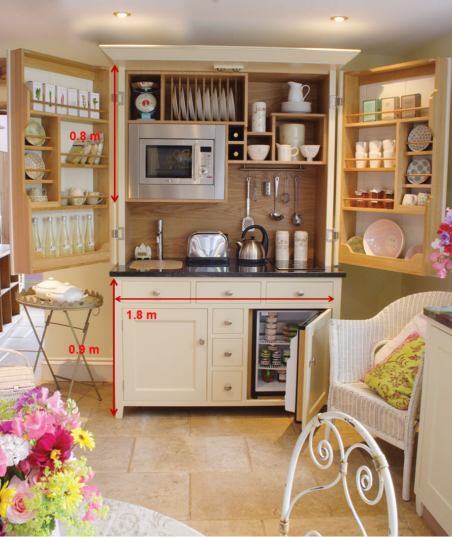 Customized kitchen cupboards for modern style small for Kitchenette cupboard