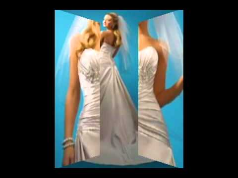 Alfred Angelo 2102 Ivory/White Wedding Dress.avi