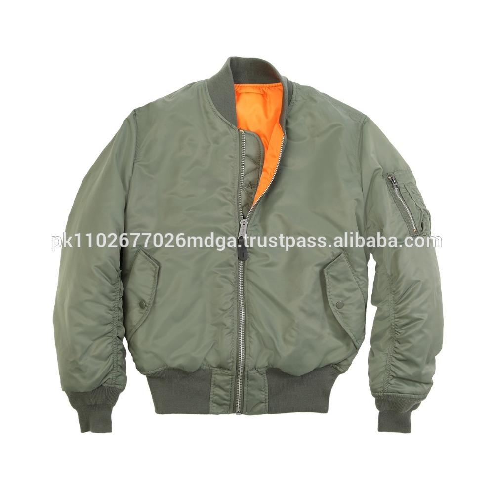 Original Men Nylon Bomber Jacket WholesaleBomber Jacket For Mens