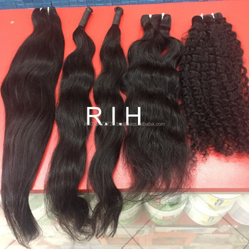 New Arrival African Women Style Bulk Curly Hair For Braiding Unwefted Indian RAW Hair 100% real Temple hair