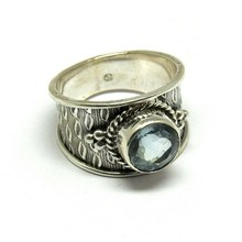 Blue Topaz 925 Sterling Silver Jewelry Ring, Discounted Silver Jewelry, 925 Silver Jewelry