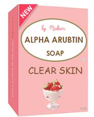 Handmade Soap Aha Alpha Arbutin Berry Whitening Thailand
