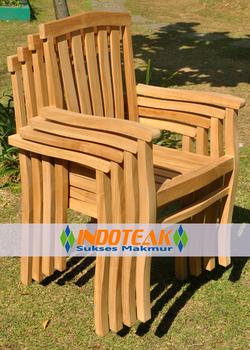 Teak Garden Furniture Chair Manufacturer Indonesia