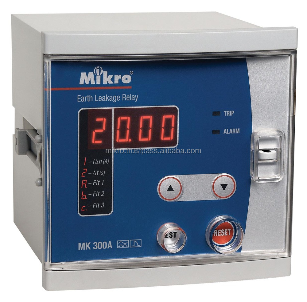 Mk300a Earth Leakage Relay Buy Protection Relayearth Switch Fault Product On