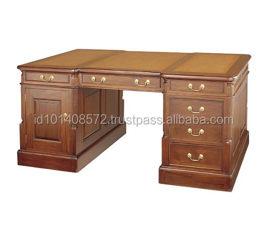 mahogany partners desk mahogany partners desk suppliers and at alibabacom - Mahogany Desk