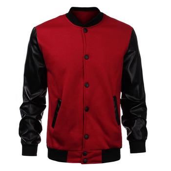 Top Quality Fashion Mens Custom Baseball Plain Varsity Jackets ...