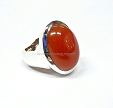 Onyx Red beautiful 925 sterling silver rings