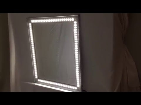 Makeup Mirror Pro-Hollywood Lighted Make-up Vanity LED Mirror With 108 Led Light