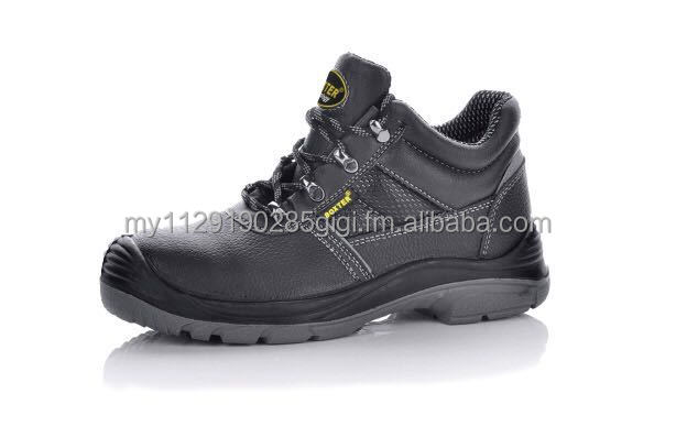 Boxter safety shoes - ESD , genuine leather and steel toe