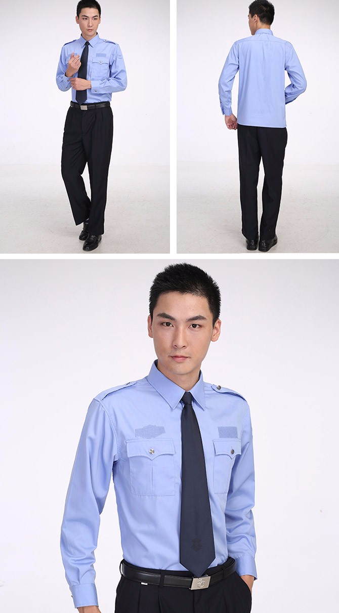 Hot Sale Long sleeves Hotel Security Guard Workwear and Uniforms for Spring and Autumn