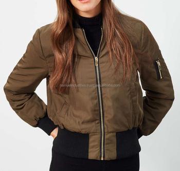 86c8afcf558e0 Khaki Bomber Jacket for girls camouflage bomber jacket Plus Size Custom  Varsity baseball Jacket
