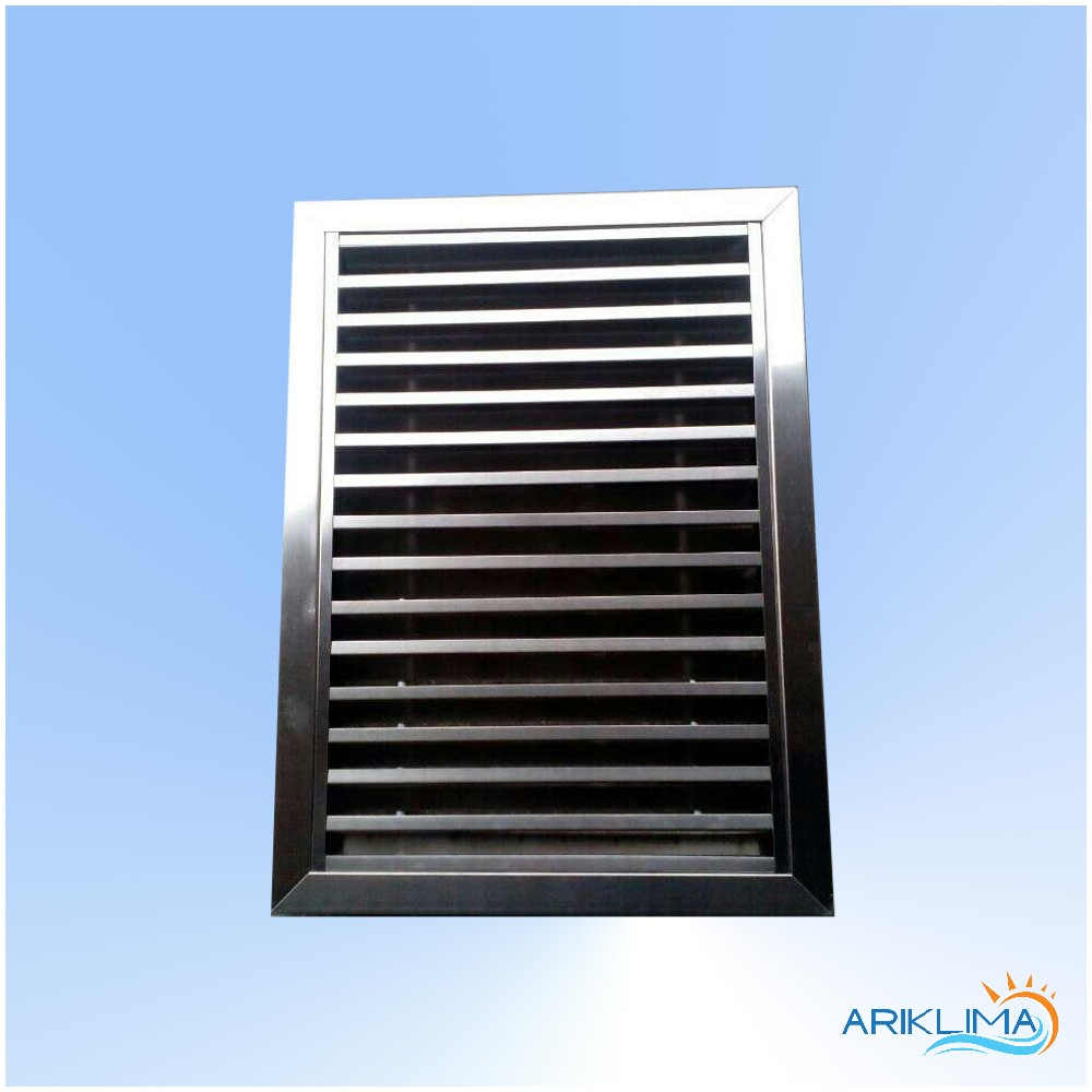Linear bar quality air conditioning stainless steel vent