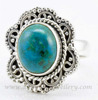 Chrysocolla Beautiful Look 925 Sterling Silver Ring