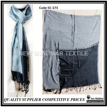 Reversible Silk Scarf Schal Scarves