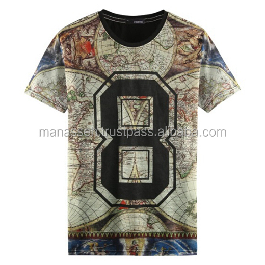 2017 Wholesale Fashion Single Jersy Dry Fit T Shirt All Over ...