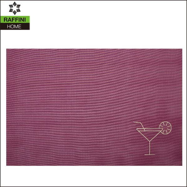 restaurant wholesale plastic embroidered doily placemats