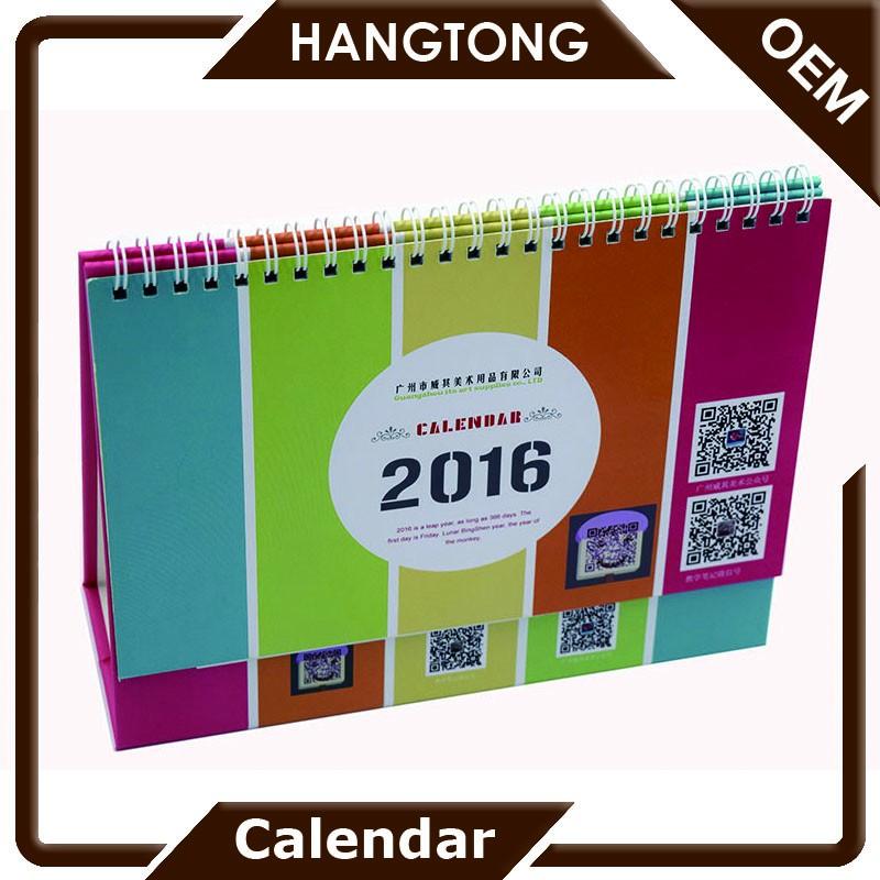 Cheap Customized Office Supplies Unique Desk Calendar Designs