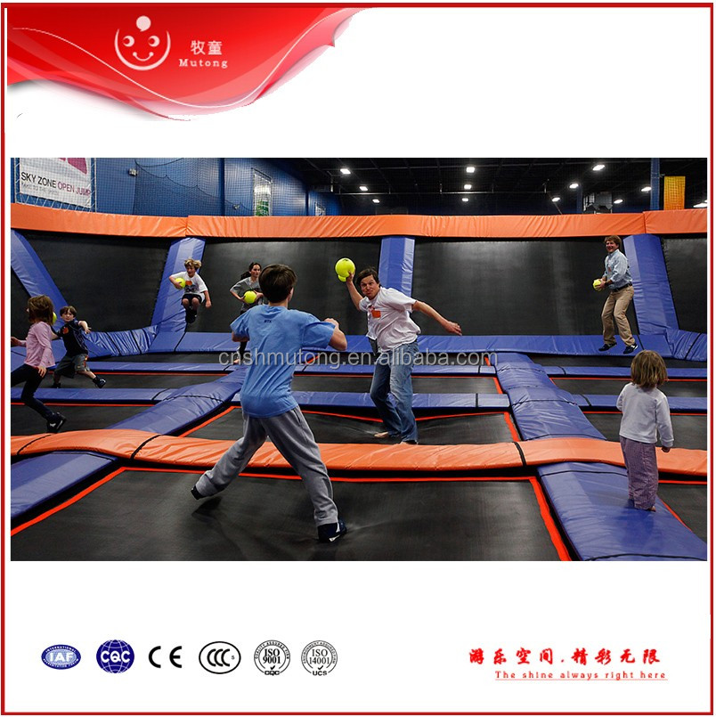 Commercial Indoor Trampoline Center on sale