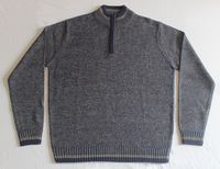 Men's Short Zip Long Sleeve Pullover Customized Sweaters - OEM Service Based Products