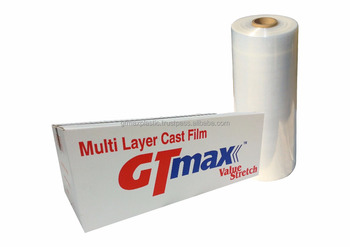 Stretch Films Machine Roll with Pre Stretch 200% 23Micron 23mm