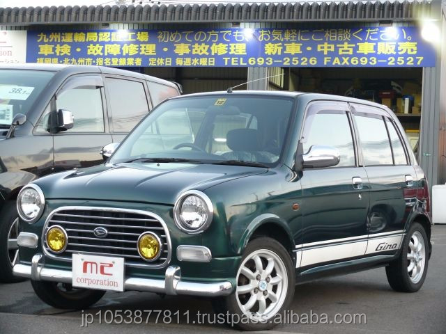 Right hand drive used japanese car auctions at reasonable prices Mira Gino mini light SP 2000