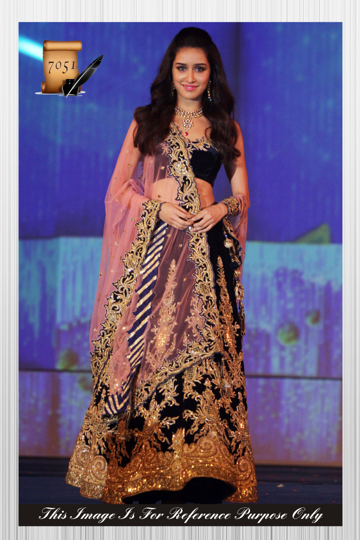 f18017d17a Exclusive Ethnic Indian Latest navy blue color designer lehenga saree